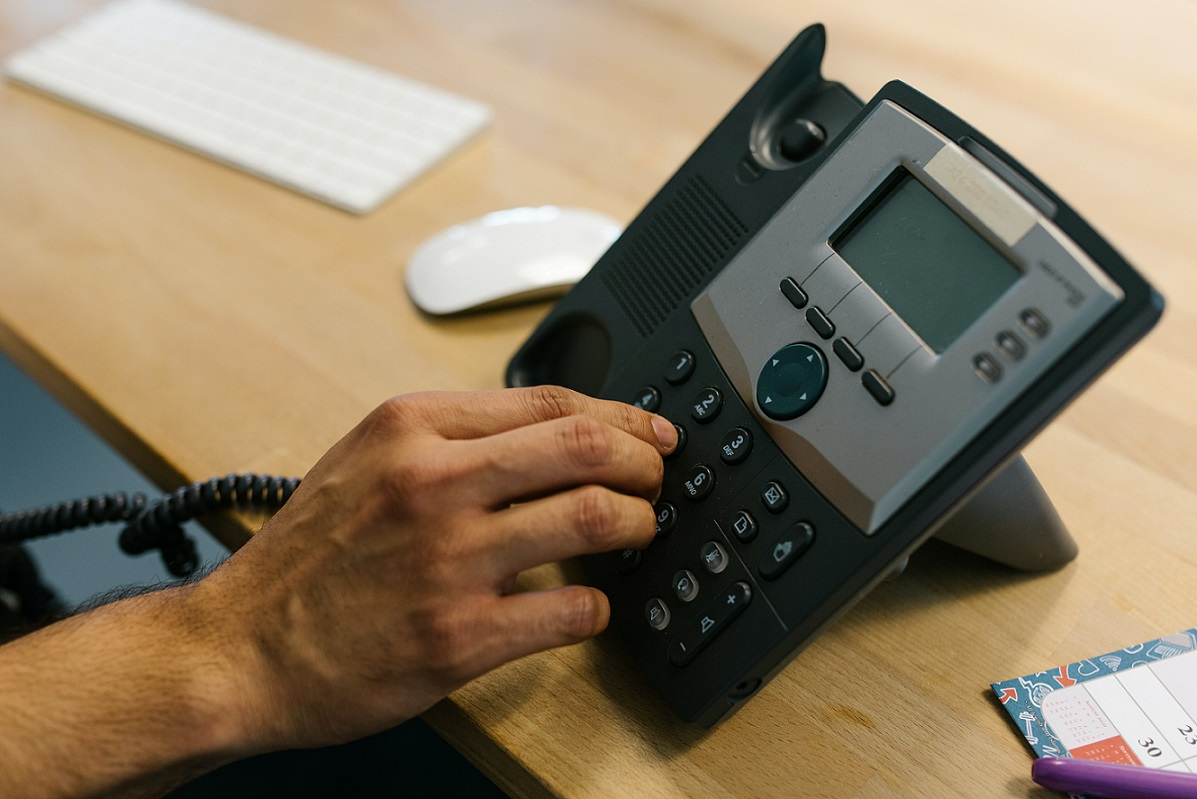 Works with your existing  business phone system